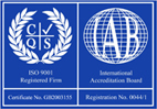 ISO 9001 Quality Assured Service